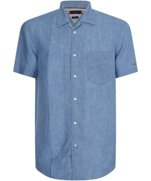 Men's Tommy Hilfiger S/S Camp Shirt - Colorado Indigo