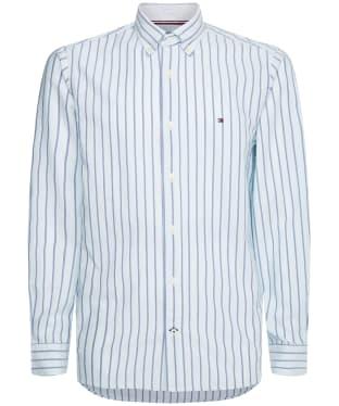 Men's Tommy Hilfiger Preppy Oxford Stripe Shirt - Oxygen / Multi