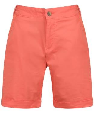 Women's Lily & Me Twill Shorts - Papaya