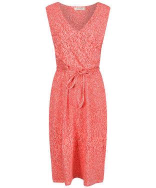 Women's Lily & Me Gathered Wrap Dress - Papaya