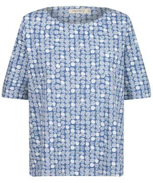 Women's Lily & Me Ella Top - Cornish Blue