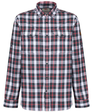 Men's Fjallraven Singi Flannel Shirt - Dusk