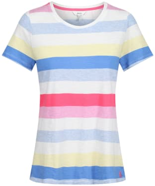 Women's Joules Carley Stripe T-Shirt - Cream Stripe