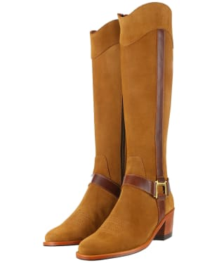 Women's Fairfax & Favor Burnham Boots - Tan Suede