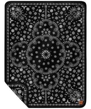 Slowtide Paisley Park Blanket - Black
