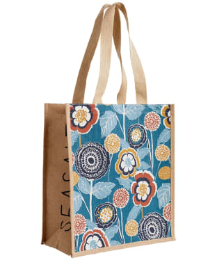 Women's Seasalt Jute Shopper - Garden Swell