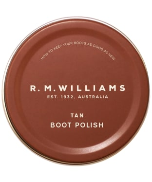 R.M. Williams Stockman's Boot Polish - Tan