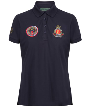 Women's Holland Cooper Team Polo Shirt - Ink Navy