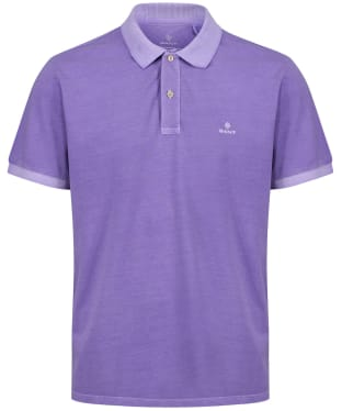 Men's GANT Sunbleached Polo Shirt - Lavender Purple
