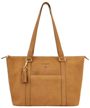 Women's Dubarry Dunlavin Leather Tote Bag - Caramel