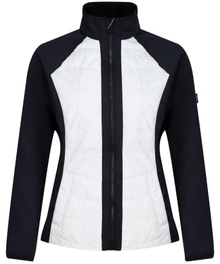 Women's Dubarry Emerald Hybrid Jacket - White Multi