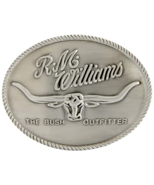 R.M. Williams Logo Buckle - Silver