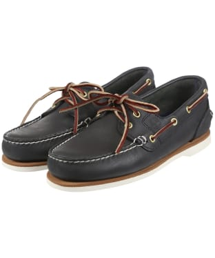 Women's Timberland Earthkeepers® Classic Amherst 2-Eye Boat Shoes - Medium Blue FG