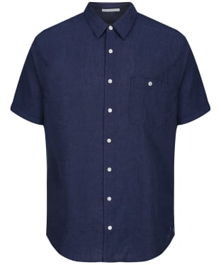 Men's Joules Breaker S/S Shirt - French Navy