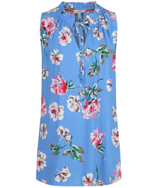 Women's Joules Cierra Top - Blue Floral