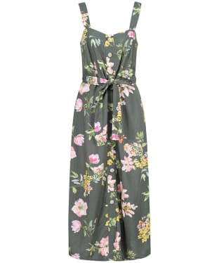Women's Joules Kimia Dress - Green Floral