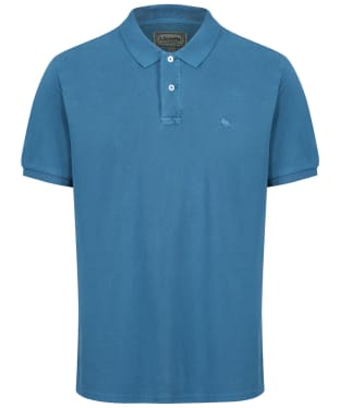 Men's Schoffel St Ives Classic Polo Shirt - Mykonos Blue