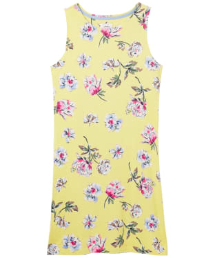Women's Joules Riva Dress - Lemon Floral