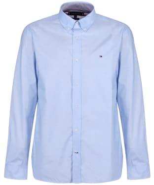 Men's Tommy Hilfiger Natural Soft Poplin Shirt - Copenhagen Blue