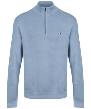 Men's Tommy Hilfiger Zip Mock Jumper - Colorado Indigo