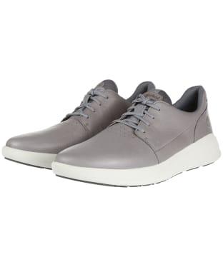 Men's Timberland Bradstreet Ultra Leather Oxford Shoes - MEDIUM GREY NUB