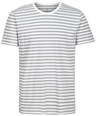Men's Globe Horizon Striped Tee - White