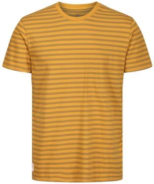 Men's Globe Horizon Striped Tee - Honey