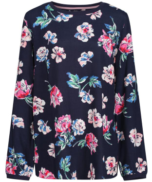 Women's Joules Keegan Shell Top - Navy Floral