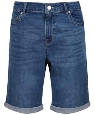 Women's Joules Shirley Long Shorts - Light Denim