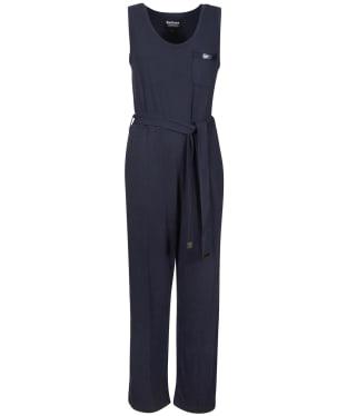 Women's Barbour International Sugo Jumpsuit - Metallic Blue