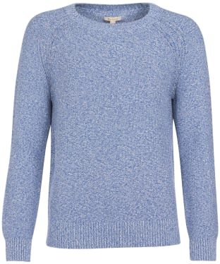 Women's Barbour Shoreline Knit Sweater - Chambray