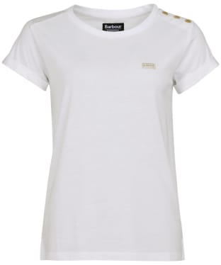 Women's Barbour International Baltimore Top - White