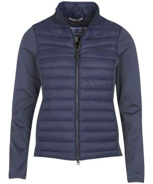 Women's Barbour Saltwater Sweater Jacket - Summer Navy