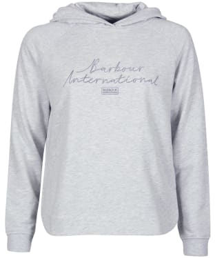 Women's Barbour International Manali Overlayer - Pale Grey Marl