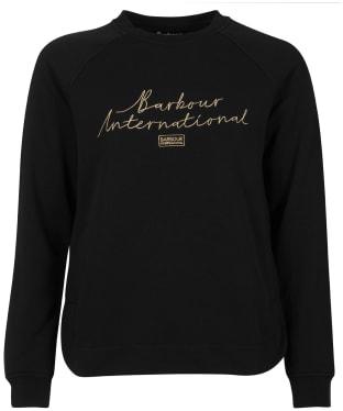 Women's Barbour International Baltimore Overlayer - Black