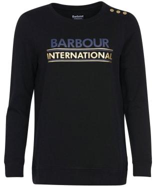 Women's Barbour International Austin Overlayer - Black
