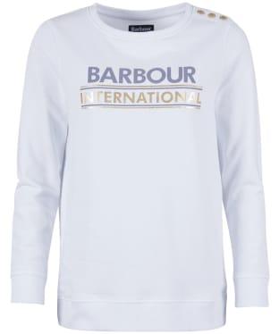 Women's Barbour International Austin Overlayer - White