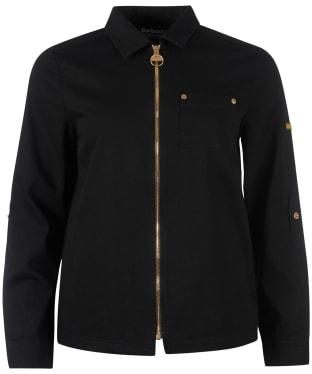 Women's Barbour International Minato Overshirt - Black