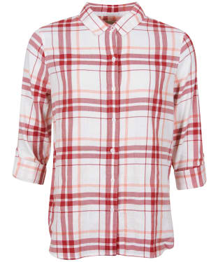 Women's Barbour Shoreline Shirt - MULBERRY/PCH RS