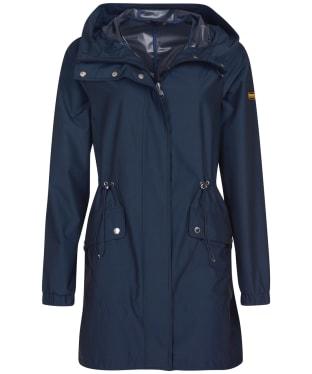 Women's Barbour International Suzuka Showerproof Jacket - Metallic Blue