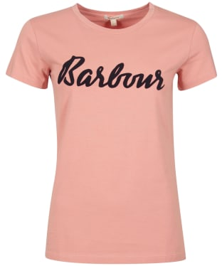 Women's Barbour Rebecca T-Shirt - PEACH ROSE