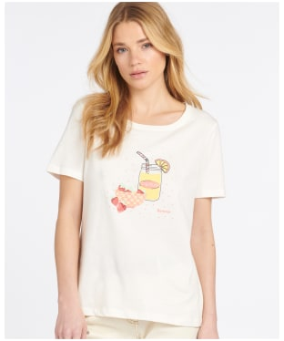 Women's Barbour Saltwater T-Shirt - Cloud