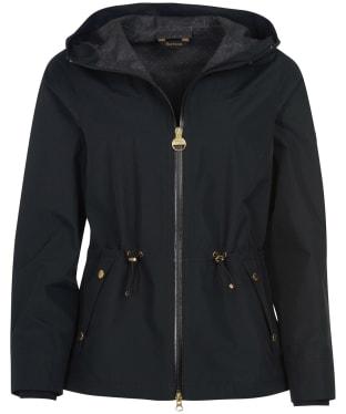 Women's Barbour International Manato Waterproof Jacket - Black