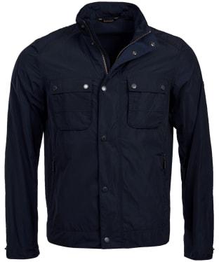 Men's Barbour International Stannington Casual Jacket - Navy