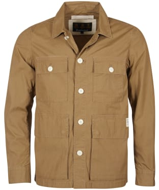Men's Barbour Rowden Casual Jacket - Stone