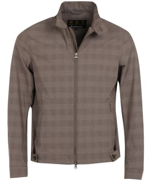 Men's Barbour Dobel Casual Harrington Jacket - Stone
