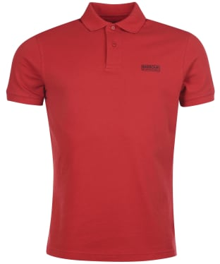 Men's Barbour International Essential Polo - Root Red
