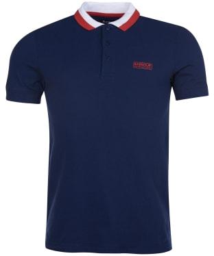Men's Barbour International Ampere Polo - Dress Blue