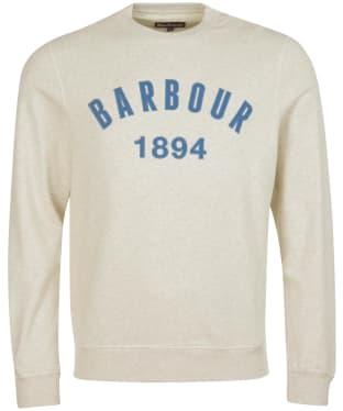 Men's Barbour John Crew Sweatshirt - Ecru