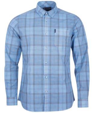 Men's Barbour Tartan 18 Tailored Shirt - Pigment Blue